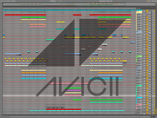 Ableton templates of Avicii - Levels