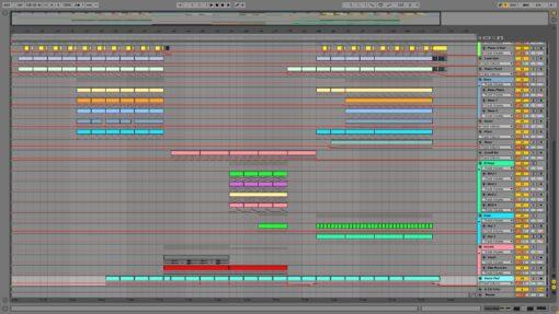 Screenshot of Avicii - Levels Ableton Remake