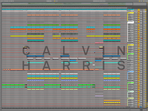 Ableton templates of Calvin Harris - Bounce