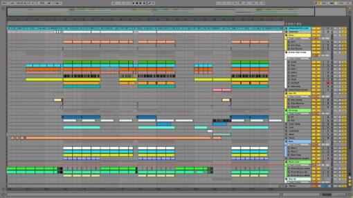 Screenshot of Calvin Harris - Bounce Ableton Remake