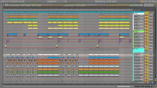 Screenshot of Deadmau5 - Ghosts N Stuff Ableton Remake