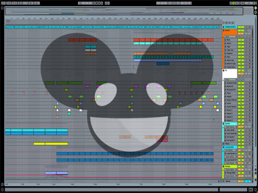 Ableton templates of Deadmau5 - Strobe