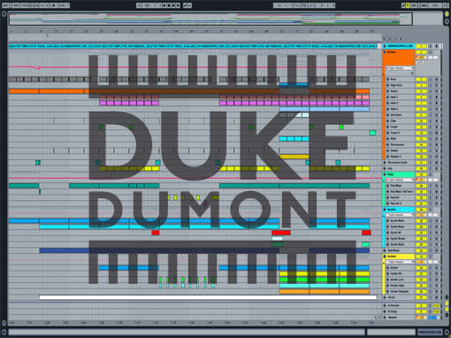 Ableton templates of Duke Dumont - Ocean Drive