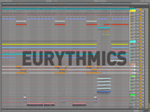 Ableton templates of Eurythmics - Sweet Dreams