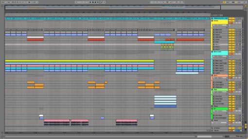Screenshot of Eurythmics - Sweet Dreams Ableton Remake