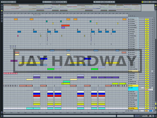 Ableton templates of Jay Hardway - Wake Up