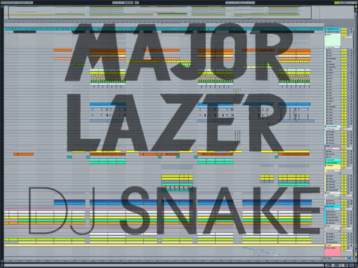 Ableton templates of Major Lazer & DJ Snake - Lean On