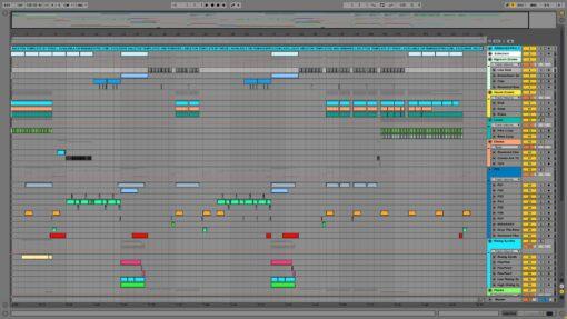 Screenshot of Martin Garrix - Animals Ableton Remake