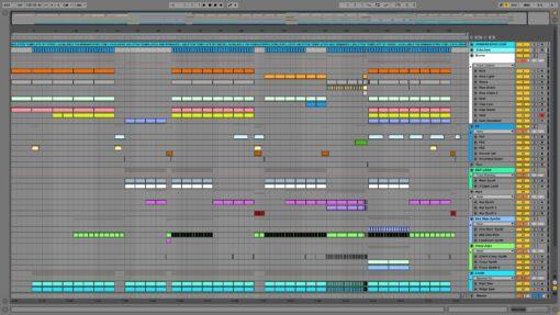 Screenshot of Mord Fustang - Drivel Ableton Remake