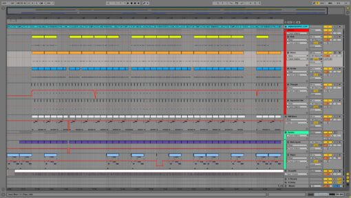 Screenshot of Rae Sremmurd - Black Beatles Ableton Remake