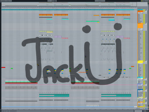 Ableton templates of Skrillex & Diplo - Where Are U Now