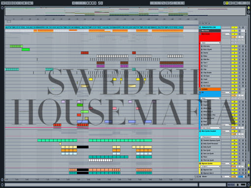 Ableton templates of Swedish House Mafia - One