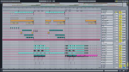 Screenshot of LICK DA CAT - Trionic Ableton Template