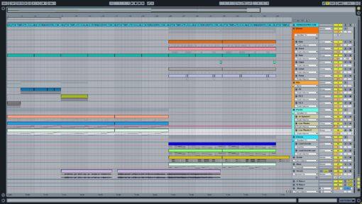Screenshot of Zedd - Spectrum Ableton Remake