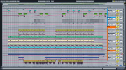 Screenshot of Deadmau5 & Kaskade - I Remember Ableton Remake