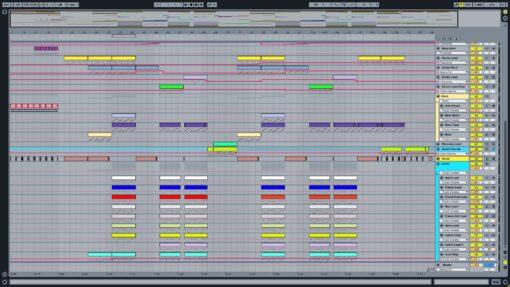 Screenshot of Jay Hardway - Wake Up Ableton Remake