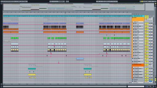 Screenshot of Martin Garrix feat. Justin Mylo & Mesto - Bouncybob Ableton Remake