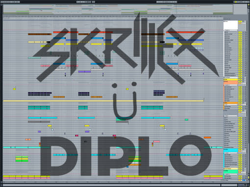 Ableton templates of Jack U - Take U There