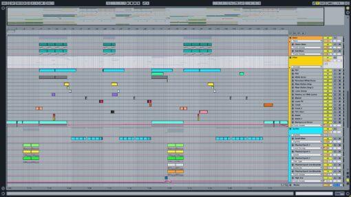 Screenshot of Jack U - Take U There Ableton Remake