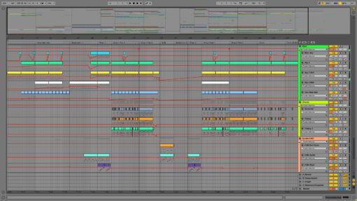 Screenshot of LICK DA CAT - Dogfight Ableton Template