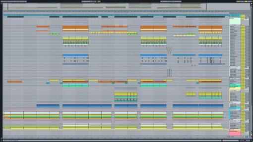 Screenshot of Major Lazer & DJ Snake - Lean On Ableton Remake
