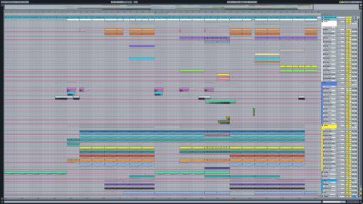 Screenshot of Avicii - Dancing in My Head Ableton Remake