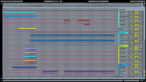 Screenshot of Deadmau5 - Strobe Ableton Remake