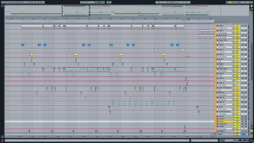 Screenshot of Skrillex & Diplo - Where Are U Now Ableton Remake