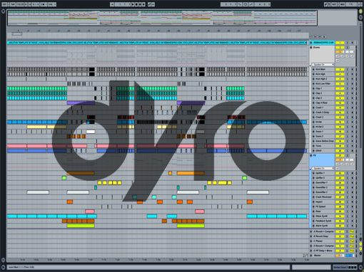 Ableton templates of Dyro - Against All Odds