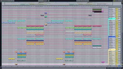 Screenshot of Galantis - Mama Look At Me Now Ableton Remake