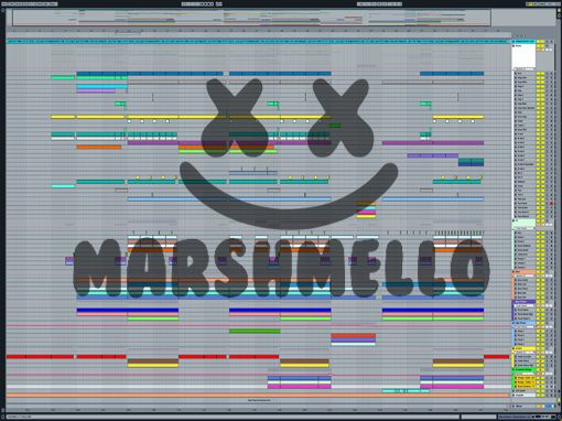 Ableton templates of Marshmello - Friends!