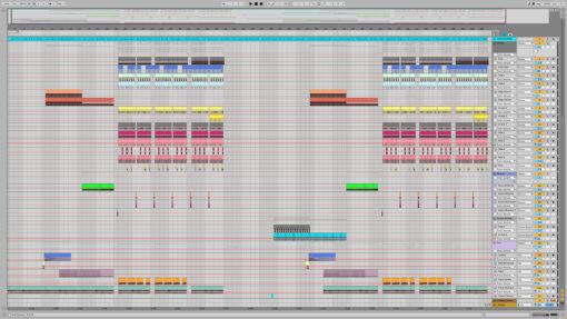 Screenshot of Martin Garrix - Yottabyte Ableton Remake