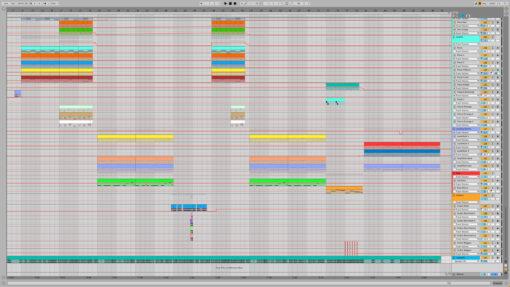 Screenshot of BLACKPINK - How You Like That Ableton Remake